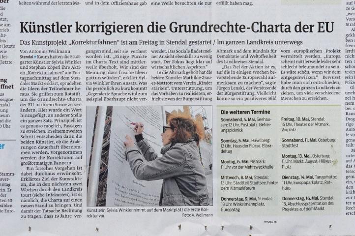 Volksstimme, 2019/05/04